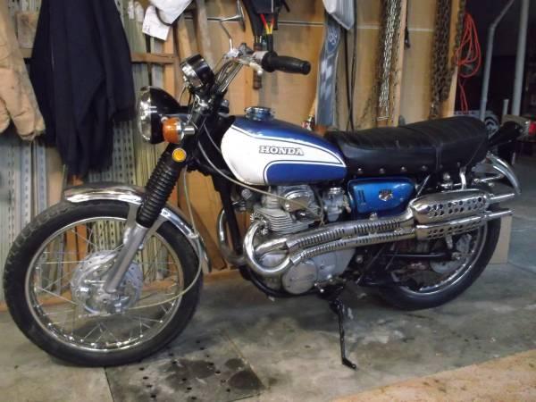 Photo 1970 Honda cl350 scrambler - $800 (rock creek lake)