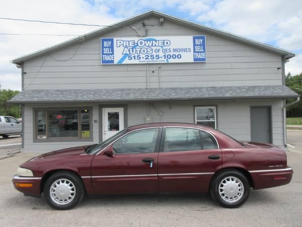 Photo 1998 Buick Park Avenue Sedan - AutomaticWheelsLow Miles - 85K- SALE - $2,900 (Pre-Owned Autos of Des Moines)