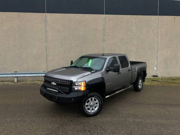 Photo 2012 Chevy Silverado 2500 LT - ONLY ONE OWNER  4x4  Crew Cab  6.0L - $18995 (Crew Cab POWERFUL V8 6.0L 1 Owner)