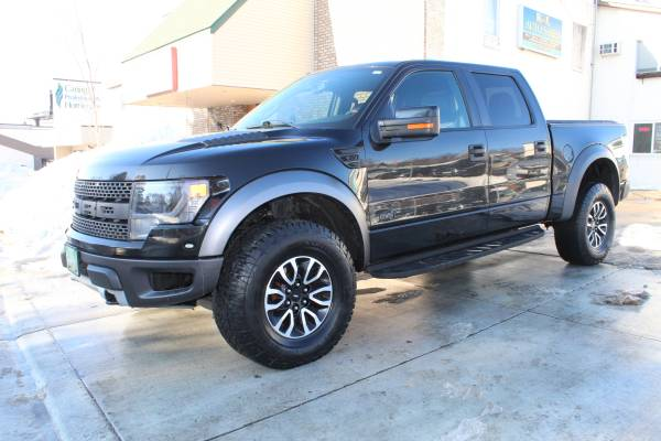Photo 2014 FORD F150 SVT RAPTOR 4X4 CREW-CAB (Financing Available) - $36,998 (ST.PAUL MN)