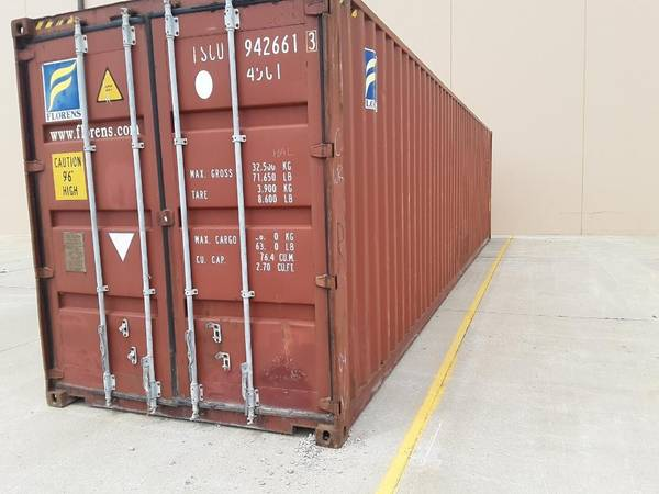 Photo 40 and 20 foot steel shipping container for farm or shop or hunting - $1,900 (Indianola, IA)