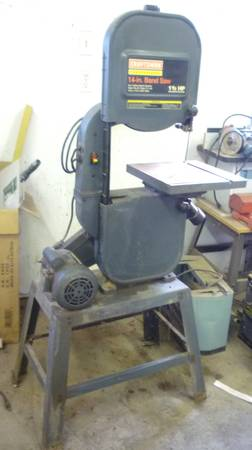 Photo CRAFTSMAN 14 INCH BANDSAW - $375 (ALTOONA IA)