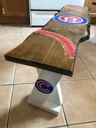 Photo Custom Team Benches - $45 (Des Moines)