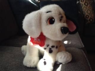 Photo Disney 101 Dalmatians name Two Tone Plush Puppy 9quot tall Dog Toy. - $5 (Des Moines Iowa)