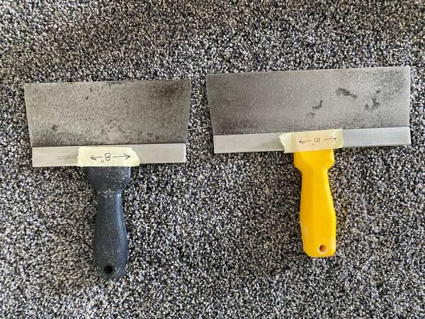 Photo Drywall Taping Knives - $8 (Johnston)