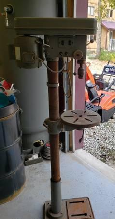Photo Floor Stand Drill Press - $125 (Chariton)