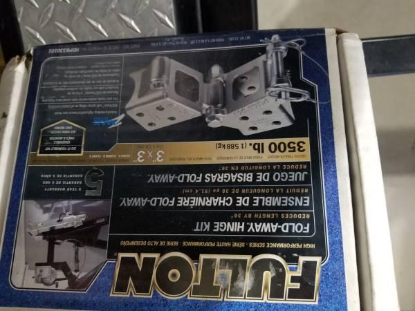 Photo Folding trailer tongue kit no welding - $50 (Osceola)