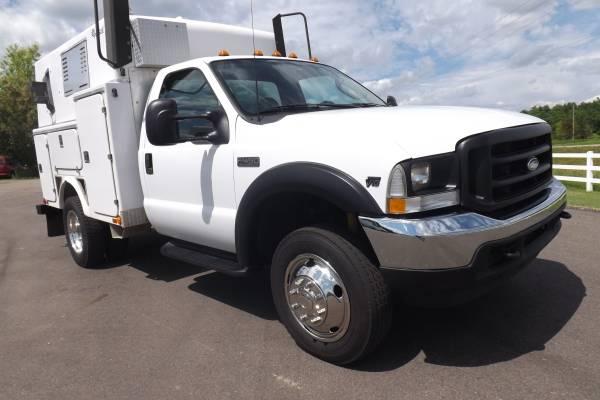 Photo Ford F450 Walk In Service Utility Truck GenAir Comp1 Owner LOW Miles - $8,950 (JORDAN)