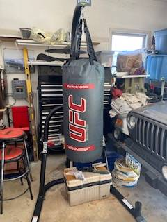 Photo Heavy Bag with Stand - $250 (West Des Moines)