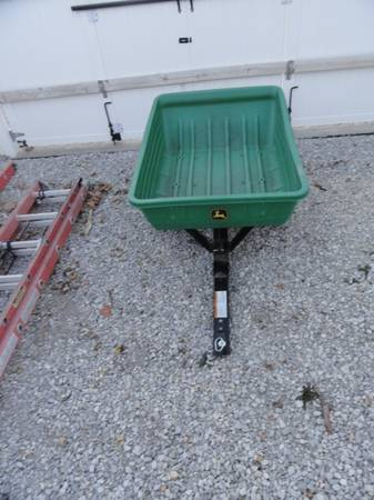 Photo JOHN DEER LAWN TRAILER - $180 (WOODWARD, IOWA)