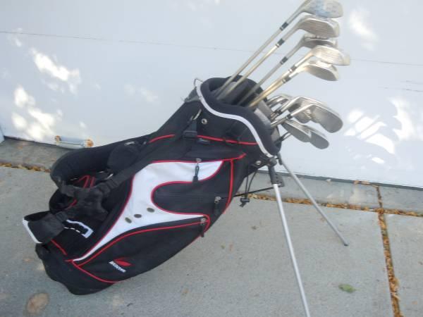Photo Lady Cobra, Tour Edge Golf Clubs, Hunter Bag, Exc - $185 (Johnston, IA)