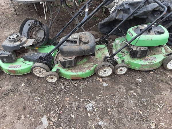 Photo Lawn Boy Gold and Silver Mowers - $50 (EDM)