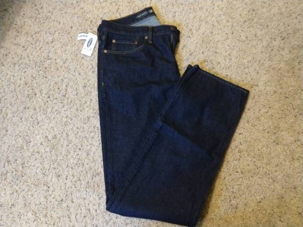 Photo Men39s Old Navy new denim jeans - size 34x36 - $10 (Johnston)