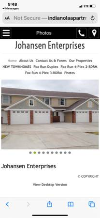 Photo New Town homes For Rent 2 Bdr (Indianola)