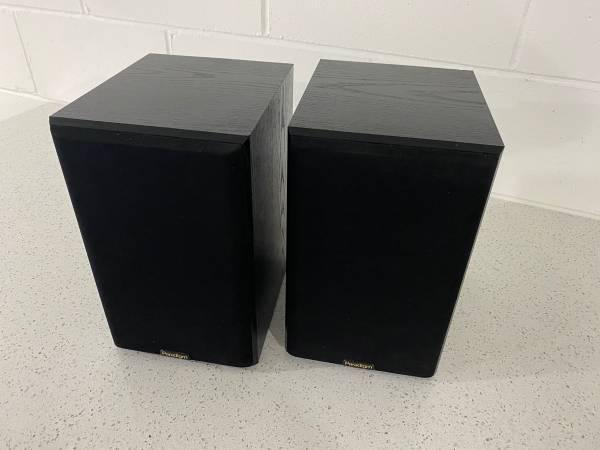 Photo Paradigm atom speakers - $50 (Wdm)