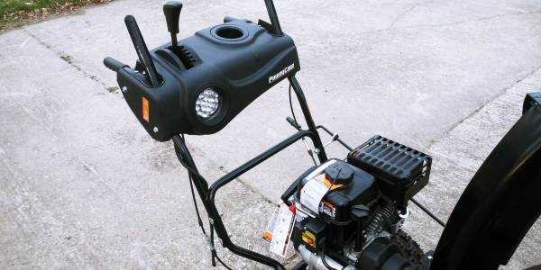 Photo Power Care 24 in. Two-Stage Gas Snow Blower, Electric Start, Headlight - $425 (Johnston)