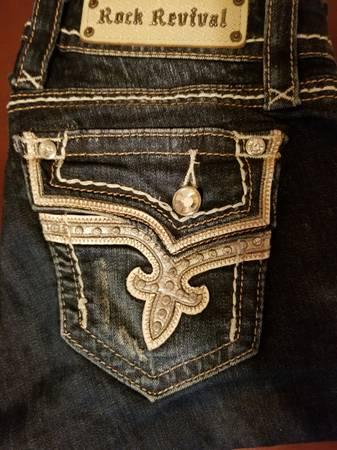 Photo Rock revival jeans - $25 (Ankeny)