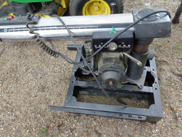 Photo Sears Craftsman Radial Arm Saw - $30 (Des Moines)