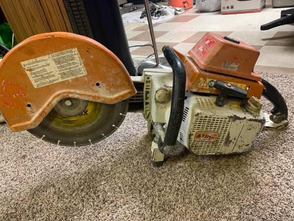 Photo Stihl TS 760 concrete saw - $500 (Des Moines)
