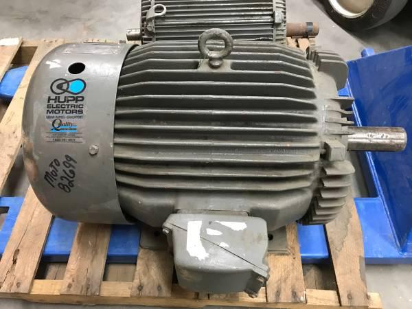 Photo TOSHIBA 40 HP Electric Motor - $250 (Pleasantville)