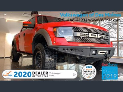 Photo Used 2014 Ford F150 4x4 Crew Cab SVT Raptor for sale