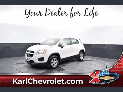 Photo Used 2015 Chevrolet Trax AWD LS w 1LS for sale