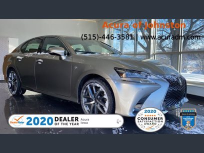 Photo Used 2017 Lexus GS 350 F Sport for sale