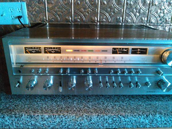 Photo Vintage Pioneer SX-1280 Stereo Receiver Amplifier - $1700 (Des Moines)