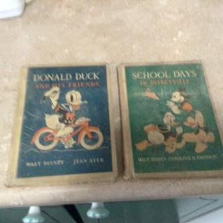 Photo WALT DISNEY SCHOOL DAYS IN DISNEYVILLE HEATH 1939 HC BOOK Caroline Eme - $10 (Des Moines Iowa)