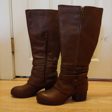 Photo Women39s brown leather Madden Girl boots - $25 (Knoxville)
