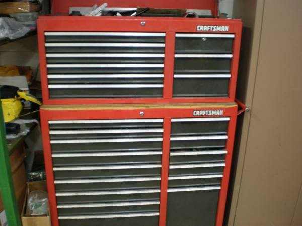 Photo full craftsman tool box READ FIRST (des moines)