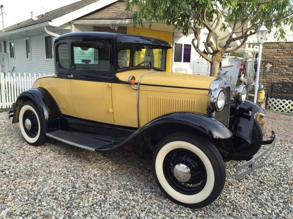 Photo 1930 Ford Model A Business Coupe - $18500