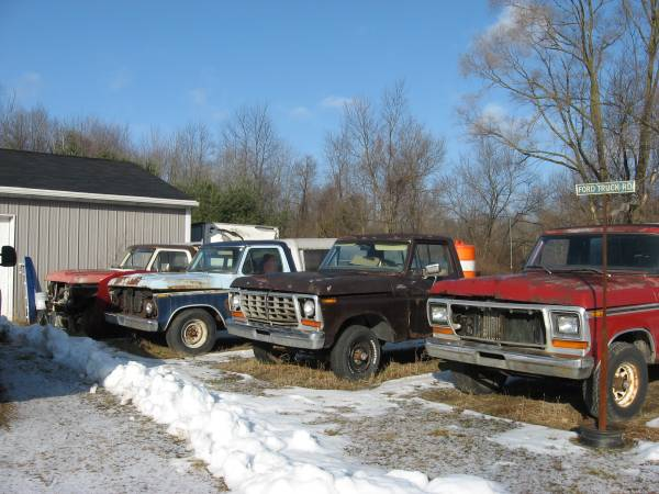 Photo 1973 1974 1975 1976 1977 1978 1979 Ford F100 F150 F250 Bronco (Belleville)