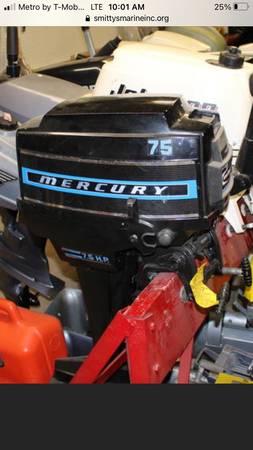 Photo 1975 7.5 mercury outboard - $700 (Macomb)