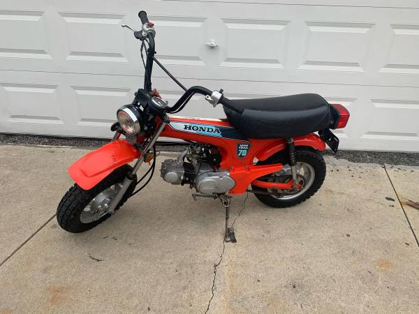 Photo 1981 Honda ct 70 mini trail - $1650 (Westland)