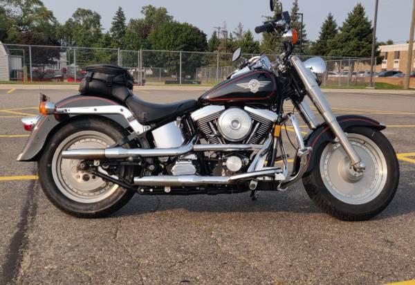Photo 1992 Evo Harley Fatboy - $4,500 (Ferndale)