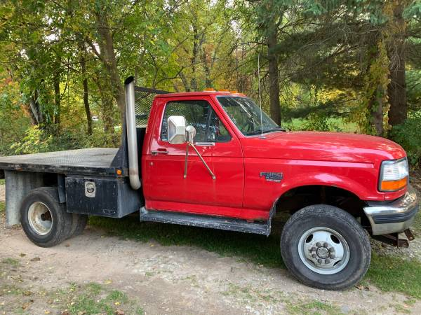 Photo 1997 F350 Stake Truck - $10,200 (Lakeville)
