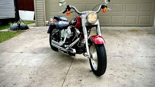 Photo 1998 Harley Davidson Fat Boy - $10,000 (Commerce TWP)
