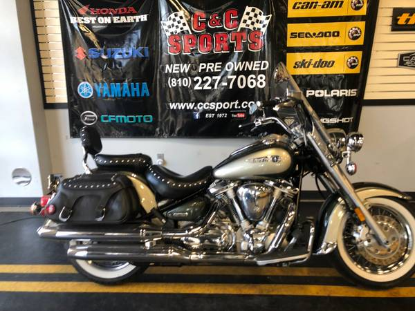 Photo 1999 YAMAHA ROAD STAR XV1600ATL - $3,999 (BRIGHTON)