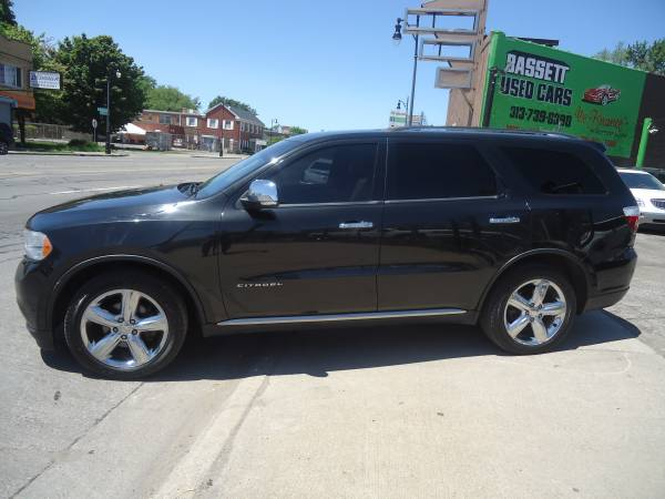 Photo 2012 Dodge Durango Citadel AWD - No Credit Check BUY HERE, PAY HERE - $12995 (Bassett Used Cars, 16500 Grand River Ave., Detroit)