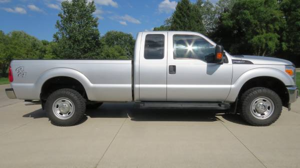Photo 2012 Ford F250 Super Duty 4X4 Long Bed Rust Free Southwest USA Truck - $16,900 (Clinton Township)