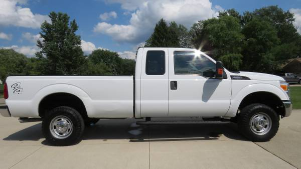 Photo 2014 Ford F250 Super Duty 4X4 Long Bed Rust Free Southwest USA Truck - $15900 (Clinton Township)