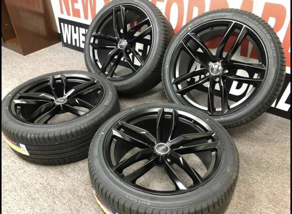 Photo 20 Audi A6 A7 A8 wheels and tires new 2554020 offset 35 - $1,299 (Fraser)