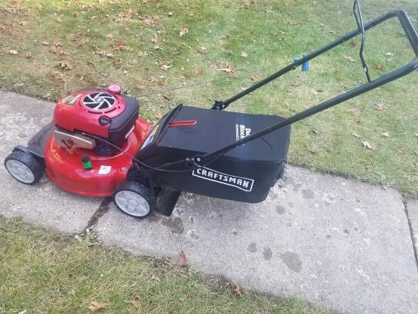 Photo 21 Inch Craftsman Push Mower With Bag - $135 (Lake Orion)