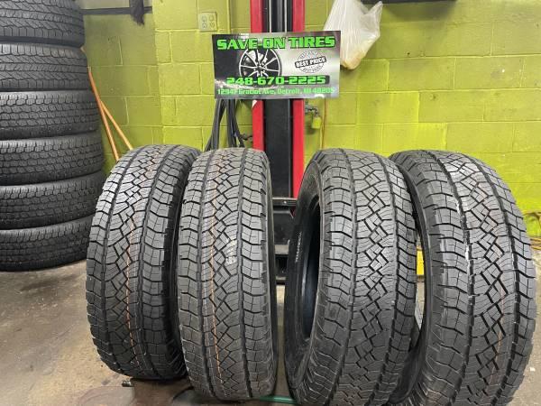 Photo 265 70 18 LT General Grabber tires new take off - $499 (Save on tires inc)