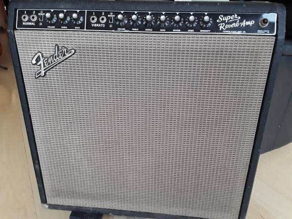 Photo 6465 Fender Super reverb - $1,850 (White Lake)