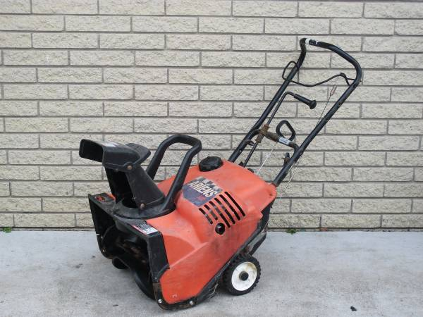 Photo ARIENS 522 SNOWBLOWER  5 HP  22quot  SNOW BLOWER - $225 (SHELBY TOWNSHIP)