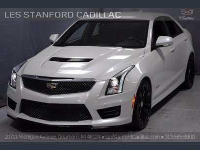 Photo Certified 2017 Cadillac ATS V Sedan w Luxury Package for sale