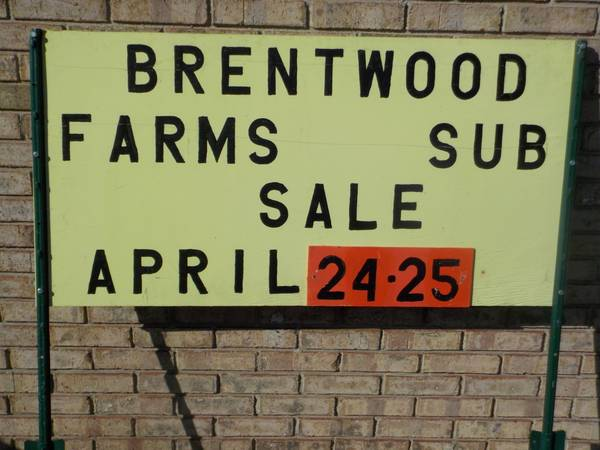 Photo Coming in APRIL...BRENTWOOD FARMS 1,2,34 Subdivisions Garage Sale (Macomb Township)