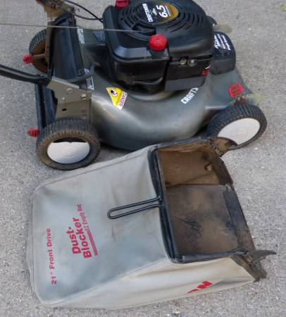 Photo Craftsman 6.5 HP FWD 21quot Gas Lawnmower - $95 (Walled Lake  Commerce Twp)